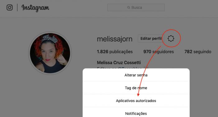 Instagram Configuracoes