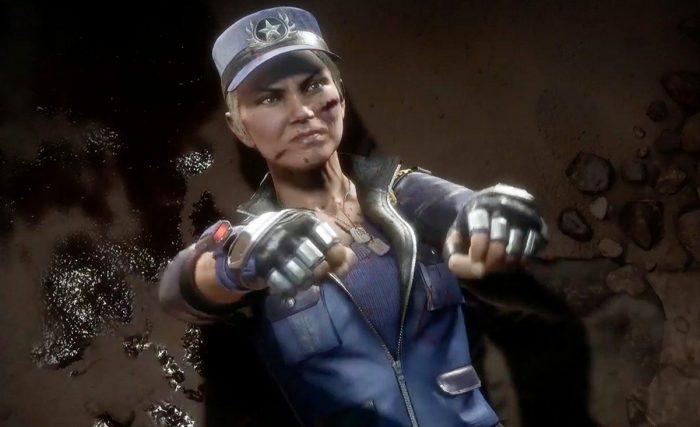 Mortal Kombat 11 sonya