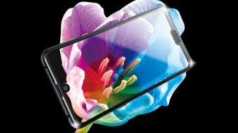 Sharp Aquos R3 tem Snapdragon 855 e tela de 120 Hz com dois notches