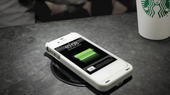 Starbucks-Wireless Charging