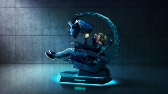 Acer traz ao Brasil cadeira gamer Predator Thronos com três monitores