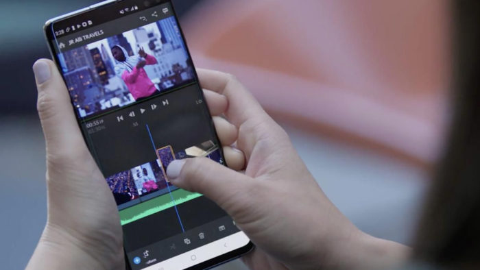 Adobe Premiere Rush é um aplicativo que permite cortar vídeo no celular (Imagem: Divulgação/Adobe)