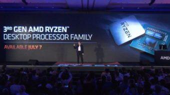 AMD Ryzen 9 3900X tem desempenho de Intel Core i9 pela metade do preço