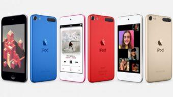 Novo iPod Touch tem chip Apple A10 e preços a partir de R$ 1.699