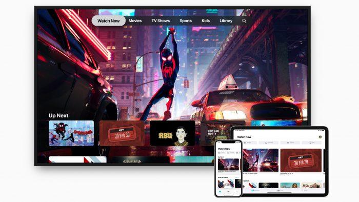 - apple tv app iphone ipad 700x394 - Apple lança novo app TV no iOS 12.3 e ativa AirPlay em TVs da Samsung