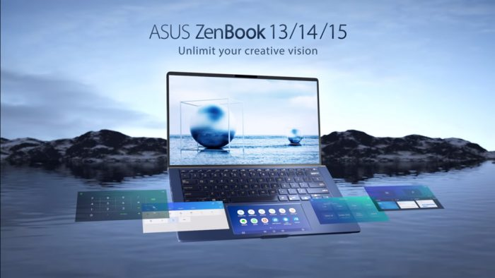 Asus lança três modelos de ZenBook com tela que substitui touchpad