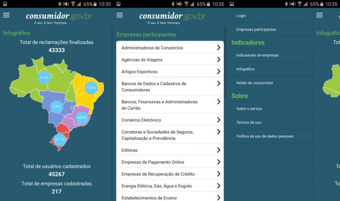 Android / consumidor.gov.br