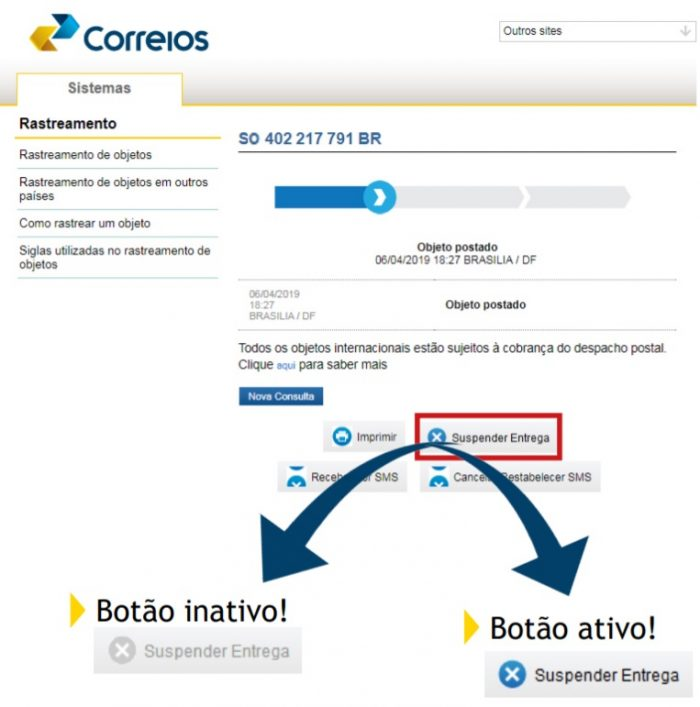 Como suspender entrega dos Correios se suspeitar de golpe | Brasil |  Tecnoblog