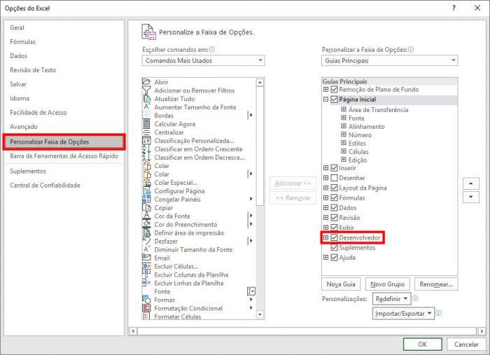 Microsoft Excel / o que é vba