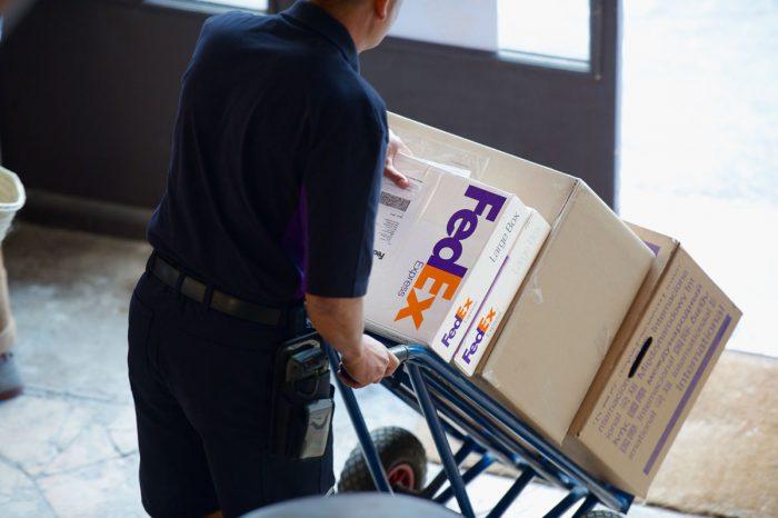 Caixas da FedEx (Foto: Divulgação/FedEx)