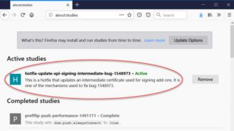 Firefox libera nova correção para falha que desativou extensões