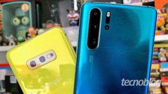 Samsung e Huawei crescem enquanto Apple cai em celulares premium