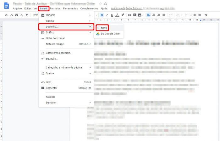 Google Docs / como assinar digitalmente um documento