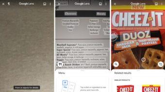 Google Lens libera sugestões em cardápios e tradução de placas