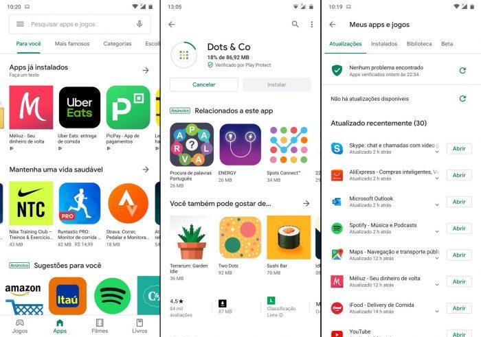 Google Play Store ganha novo visual com Material Design