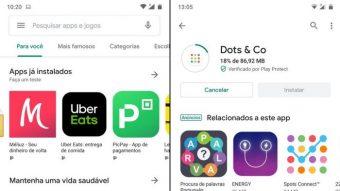 Google Play Store ganha novo visual com Material Design atualizado