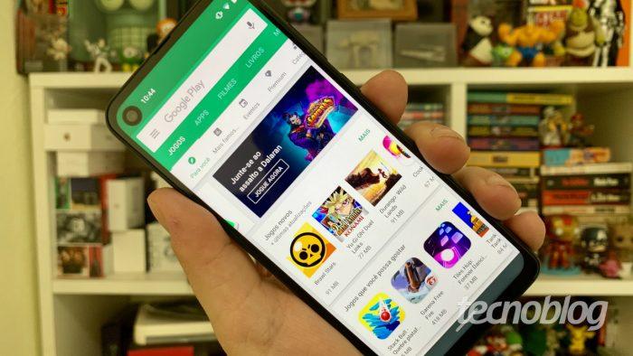Google Play Store (Imagem: André Fogaça/Tecnoblog)