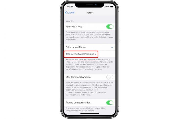 iCloud / como transferir fotos do icloud para o iphone