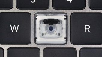 Desmanche do MacBook Pro revela que novo teclado borboleta tem poucas mudanças