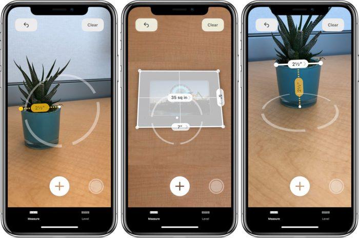 iOS 12 / iPhone / Medida / Measure