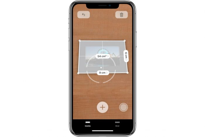 iOS 12 / Measure