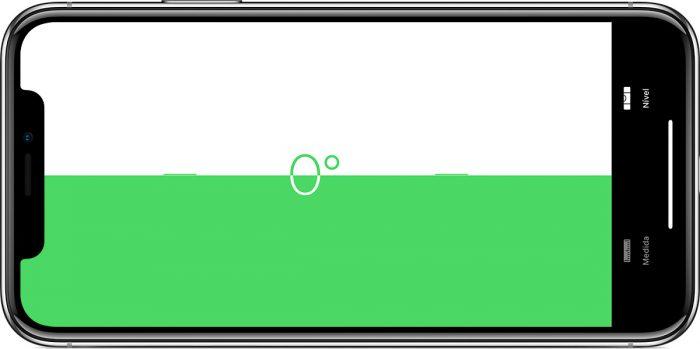 iOS 12 / Medida / nível
