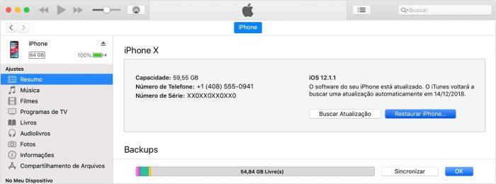 iTunes / como atualizar ipad antigo
