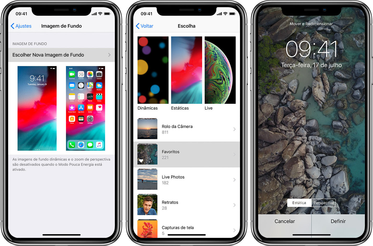 Apple / iPhone X / como colocar vídeo como papel de parede iphone
