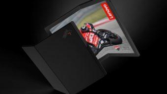 Lenovo prepara notebook ThinkPad com tela dobrável e Windows