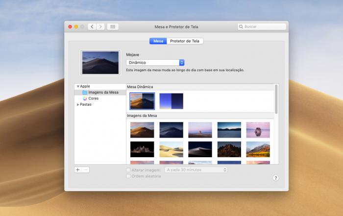 macOS Mojave / imagem de fundo dinâmica /como colocar vídeo como papel de parede mac