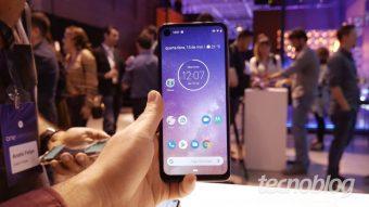 Uma olhada de perto no Motorola One Vision