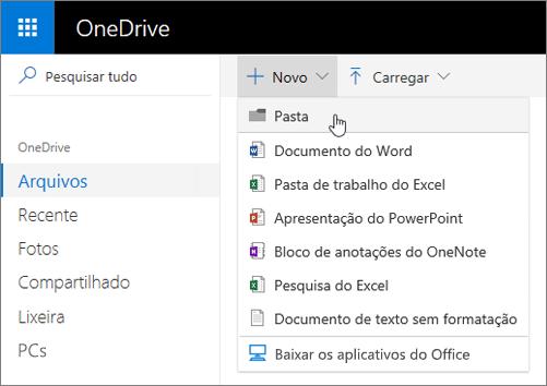 one drive na web