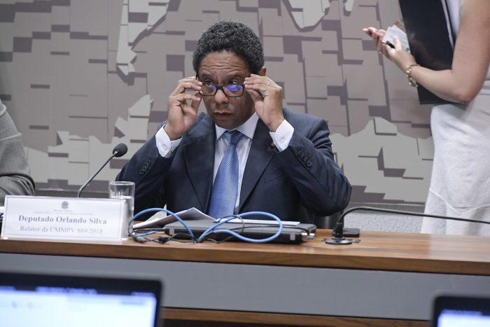 O deputado Orlando Silva foi o relator da comissão mista que analisou texto que cria a ANPD (Foto: Waldemir Barreto/Agência Senado - 07/05/2019)