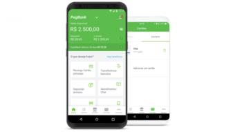 PagBank, do PagSeguro, tem cartão internacional Visa grátis com NFC