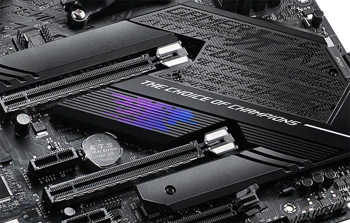Placa-mãe - PCI Express (Foto: Asus)  - placa mae pci asus 700x447 - PCI Express 5.0 está pronto e chega com velocidade de até 128 GB/s