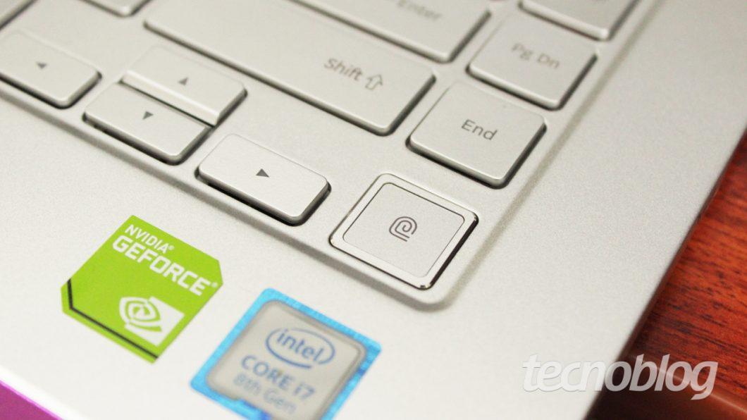 Samsung Style S51 Pro - leitor de impressões digitais