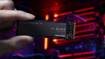 Western Digital lança SSD WD Black SN750 no Brasil
