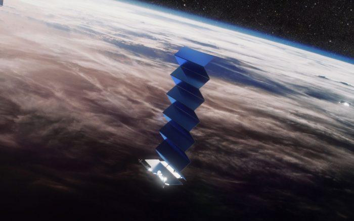 Starlink no espaço