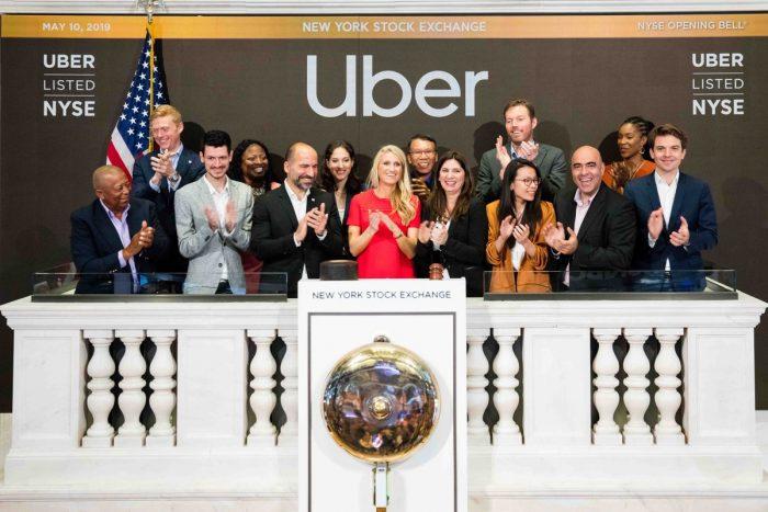 Uber na bolsa de valores