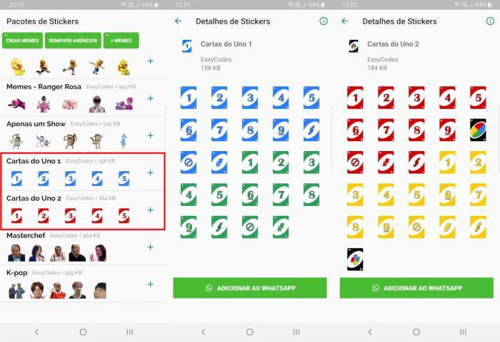 Android / Figurinhas memes brasileiros - WAStickerApps / como jogar uno do whatsapp