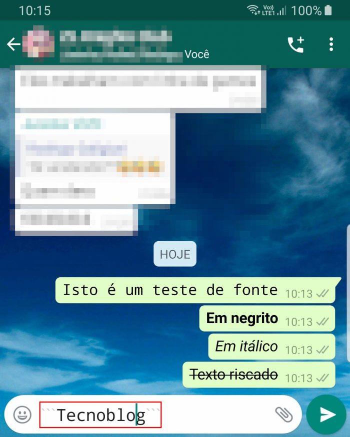 Android / WhatsApp / como mudar a letra do whatsapp