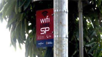 Três operadoras cuidarão das 621 redes gratuitas do WiFi Livre SP