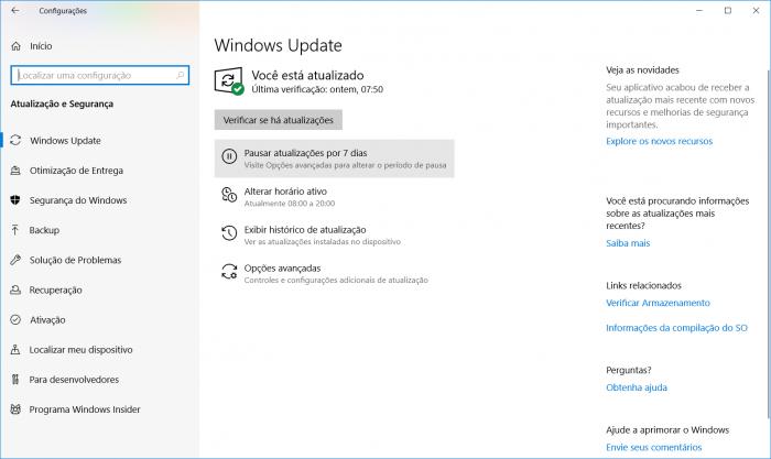 Windows 10 May 2019 Update é lançado