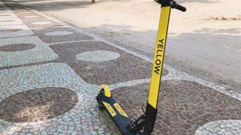 Prefeitura do Rio regulamenta patinetes elétricos com taxas para empresas