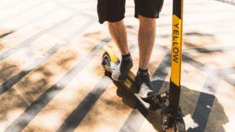 Yellow entra na Justiça após prefeitura de SP apreender 500 patinetes