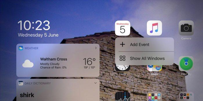 3D Touch em um iPadOS com iOS 13