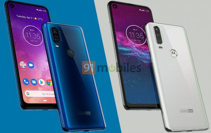 Motorola One Vision e Motorola One Action