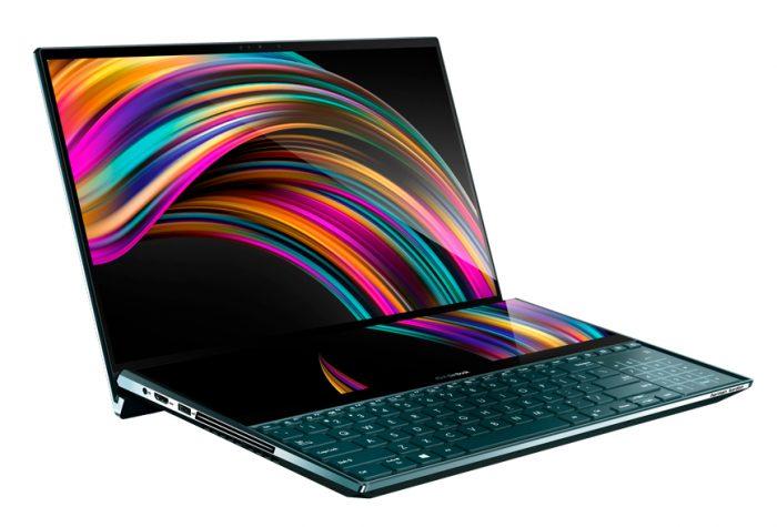 Asus ZenBook Pro Duo, com duas telas 4K