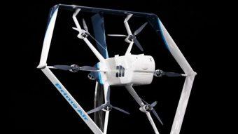 Amazon apresenta drone que usará para fazer entregas
