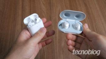 Apple, Xiaomi e Samsung crescem em wearables graças a fones de ouvido sem fio